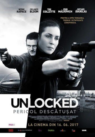 """""""Unlocked: Pericol descătușat"""", un thriller de spionaj plin de tensiune, mister și acțiune"""
