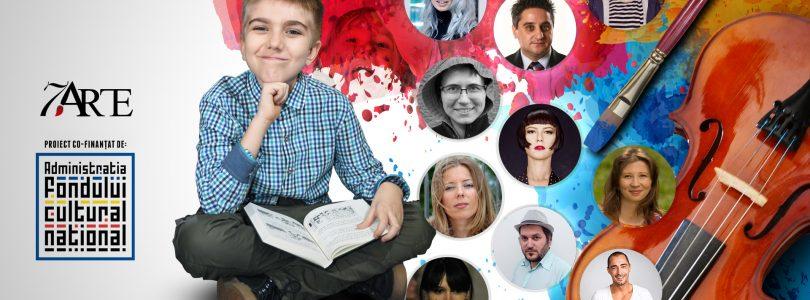 Poeta Carmen Tiderle le citeşte copiilor la atelierele de lectură smARTkid