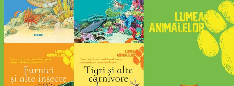 Editura Nemi lansează seria Lumea animalelor, pentru micii exploratori