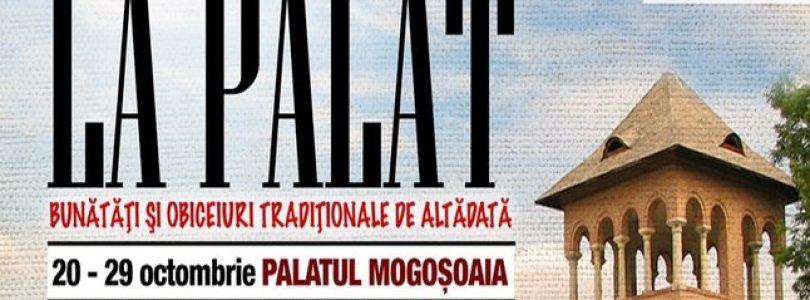 Palatul Mogoșoaia se îmbracă în haine populare – Șezătoare la Palat 2017