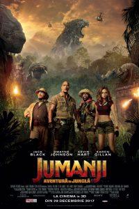 """""""Jumanji: Aventura în junglă"""" – lider absolut de box-office în vacanța de sărbători"""