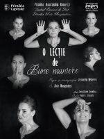 """O lecție de bune maniere"" , un one man show cu Maia Morgenstern"