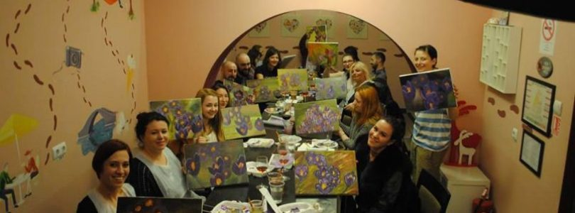 Wine and Paint Night Out