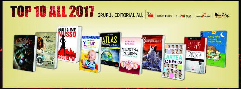 Cele mai așteptate cărți ale Grupului Editorial ALL pentru anul 2018