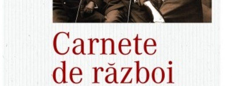 Lansare de carte: Carnete de război, de Grigore Romalo (Istorie cu blazon)