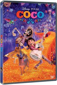 COCO, câștigător al premiului OSCAR pentru cel mai bun film de animație, este disponibil pe DVD!