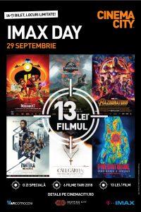 [Ziua Blockbusterelor din 2018] Pe 29 septembrie, hai la IMAX Day!