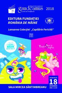 Editura Fundaţiei România de Mâine lansează, în premieră, o colecţie de cărţi pentru copii