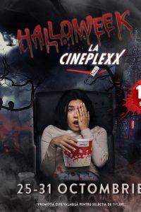 Cinefilii au Halloween de 10 doar la Cineplexx